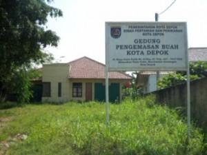 Gedung pengemasan buah Belimbing juga terbengkalai tidak digunakan