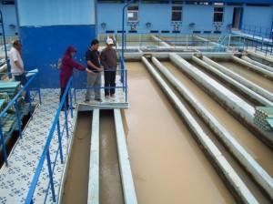 Proses penyaluran air di PDAM