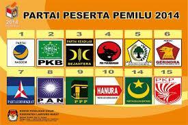 Partai2 pemilu 2014