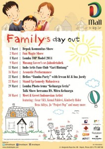 """Dmall present """"Family's Day Out"""" 