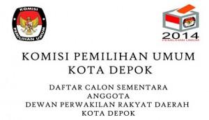 KPU-Kota-Depok-Pemilu-20142