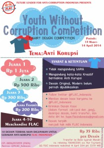 Lomba-desain-kaos-Youth-Without-Corruption