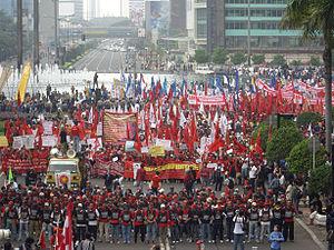 Pawai Hari Buruh 2008