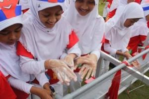 cuci tangan gerakan